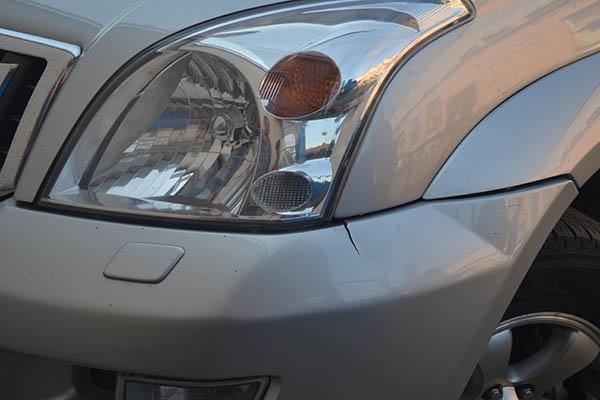 Ремонт переднего бампера
